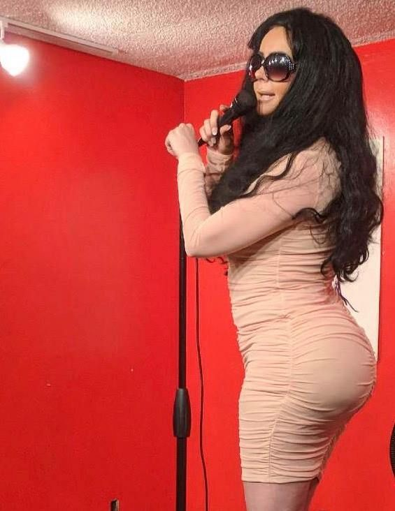 Despina Mirou as Kim Kardashian