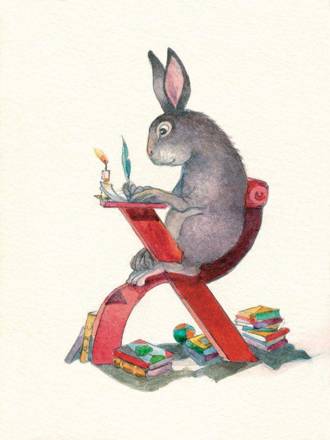 ABC carte alfabeto carte Arnav coniglio carta Nursery Decor
