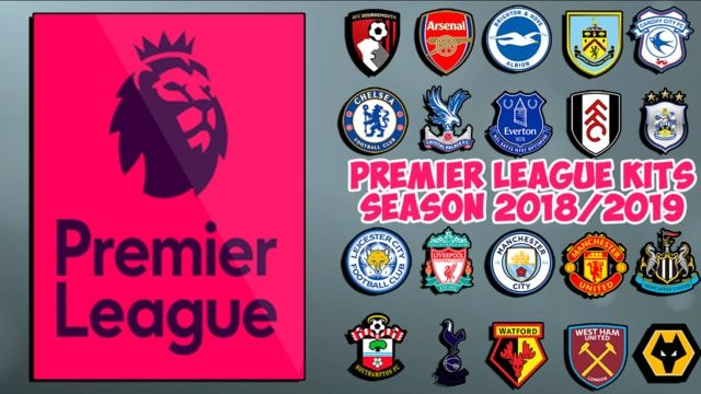Kits Premier League Season 18/19 For PES 2013 Arsenal Bournemouth