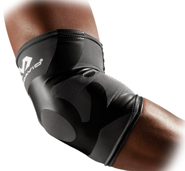 • Integrates high-performance compression sleeve with support tape • Provides joint support/stability while maintaining mobility and flexibility • Helps relieve muscle soreness and pain, while reducing swelling • Keeps muscles warm, while relieving strain and fatigue • Aids in rapid recovery and performance • Wicks sweat away from skin to prevent chafing and rashes • Slips easily on and easily off • Machine washable/dryable • Includes one sleeve • Fits left or right