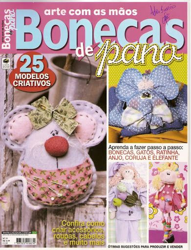 arte com as mãos bonecas de pano 21 - VILMA BONECAS - Álbuns da web do Picasa