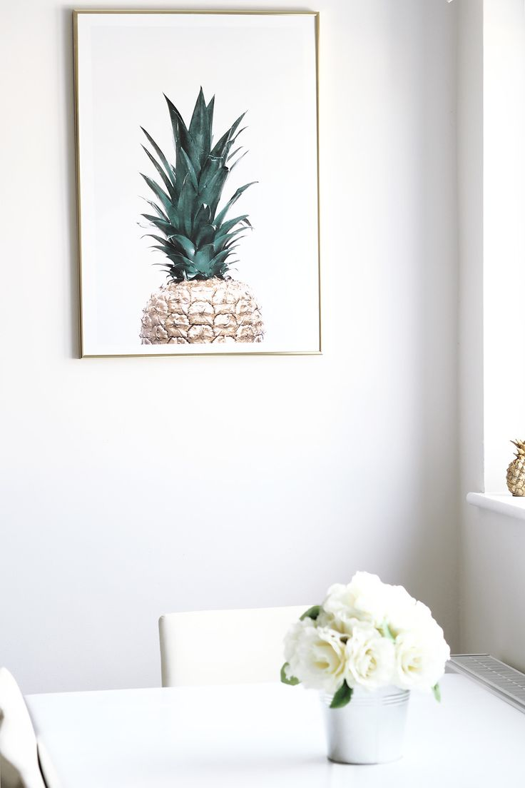 Pinapple Print by Desenio Prints