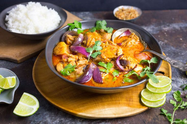 Chicken Massaman Curry with Wheat Beer
