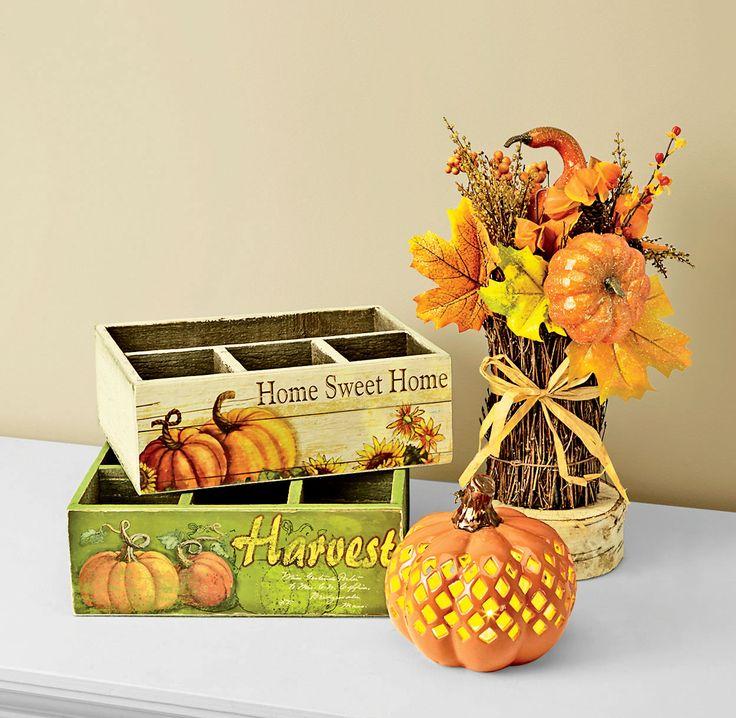 celebrate autumn with colorful harvest decorations shopko - Harvest Decorations