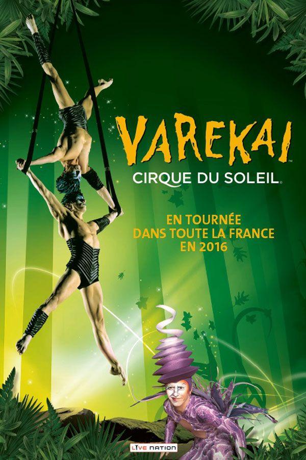 Varekai - Cirque du Soleil - Paris