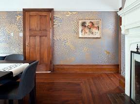 hand-painted walls