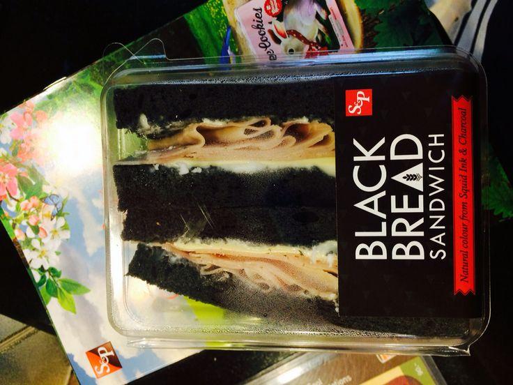 Black sandwich