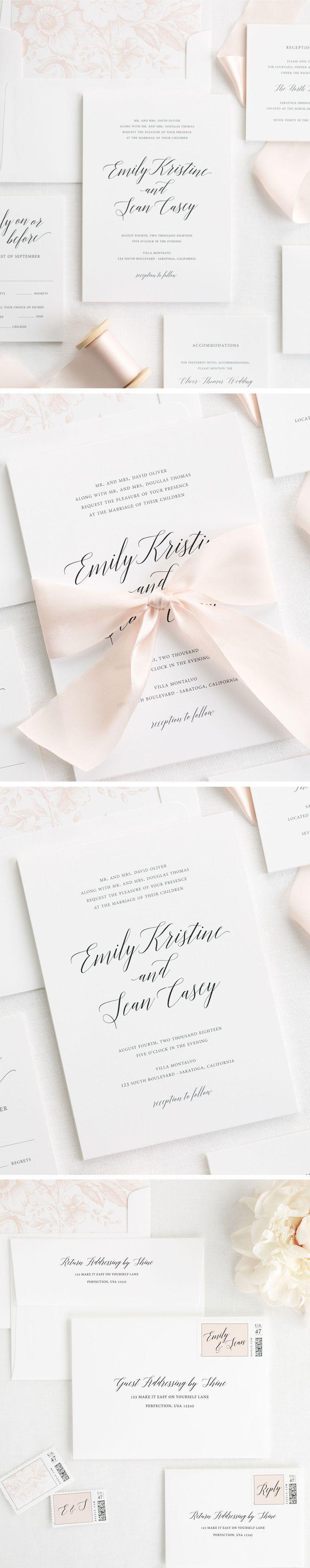 952 Best Shine Wedding Invitations Images On Pinterest Destination