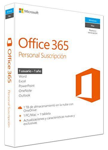 Microsoft Office 365 Personal 32/x64 – Paquetes De Ofimática, 32/x64, V2, 1 Año: Microsoft: Amazon.es: Software