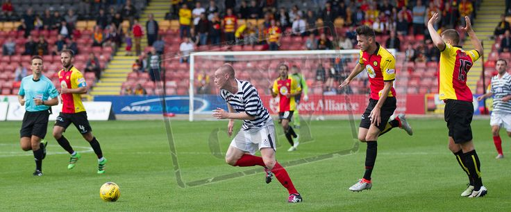 Queen's Park's Josh Watt in action during the Betfred Cup game between Partick Thistle and Queen's Park.