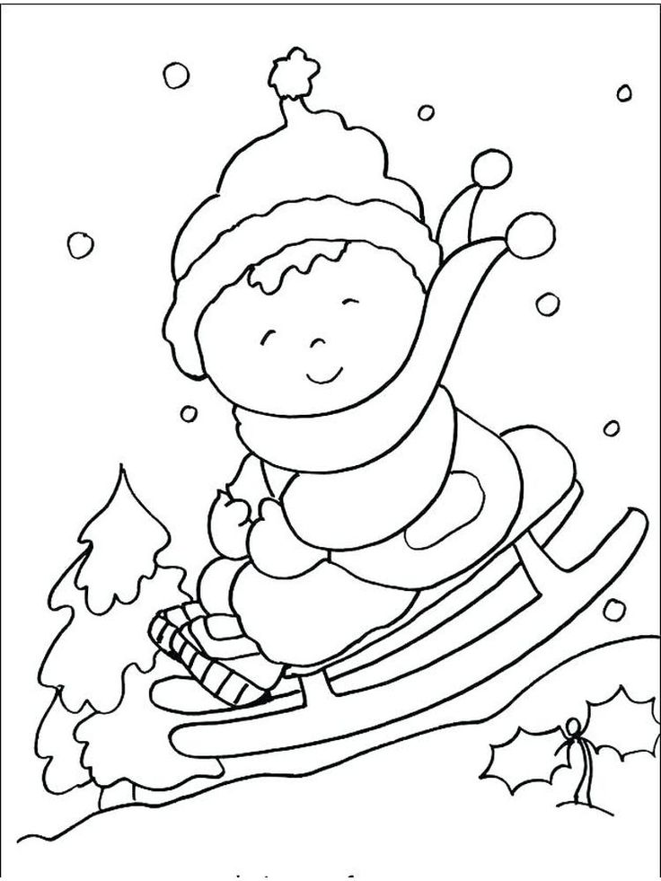 Winter Coloring Pages Printable - Free Coloring Sheets in ...