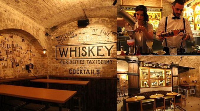 Bar restaurant Palmer & Co. | Speakeasy sensation with awesome cocktails #Sydney
