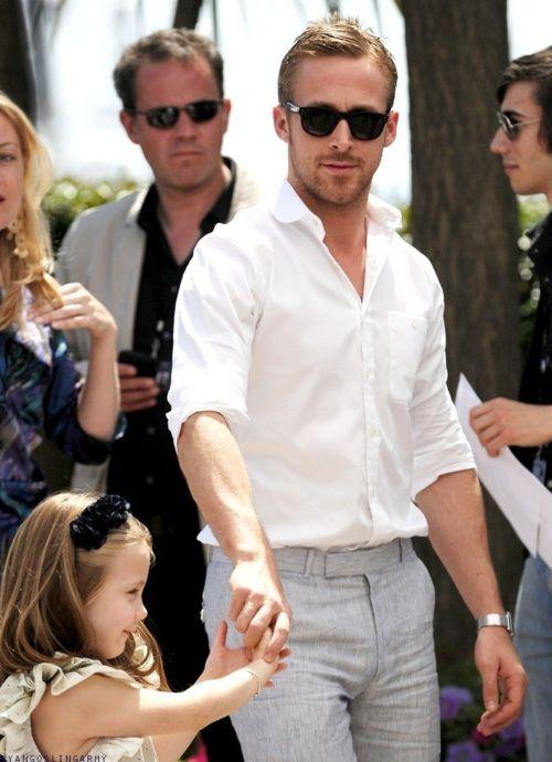 STOP IT.: Hot Outfits, Men Looks, Ryan Gosling, Dresses Pants, White Shirts, This Men, Future Husband, Dresses Shirts, Grey Dresses