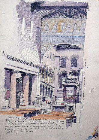 Basilica di San Lorenzo, #Rome #Italy www.invitationtotuscany.com
