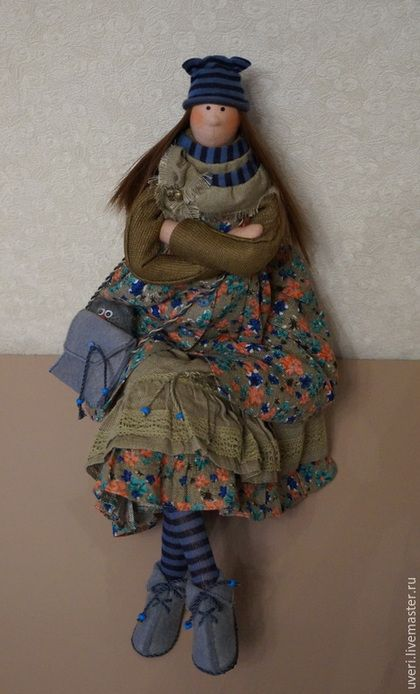 """Куклы Тильды ручной работы. Ярмарка Мастеров - ручная работа. Купить Кукла """"Иринка-маслинка"""". Handmade. Тильда кукла, прованс"""