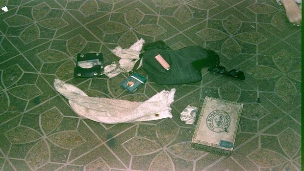 Cobain's personal belongings. | Never-Before-Seen Images Of Kurt Cobain's Crime Scene