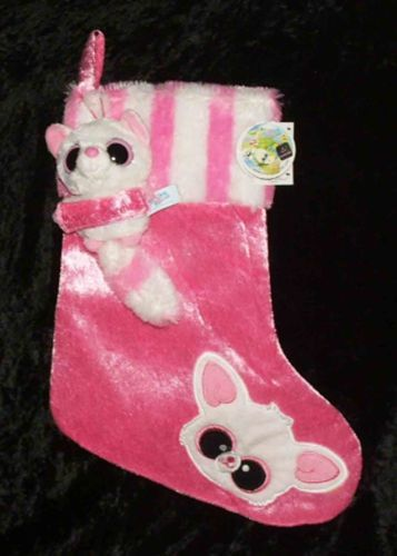 Christmas YooHoo & Friends - Pammee the Fennec Fox Stocking & Plush from Aurora (09704) - Available at Connected Concepts e-Commerce Shop at eBay Stores
