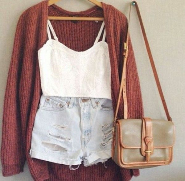 Shirt: crop tops high waisted short cardigan bags jacket