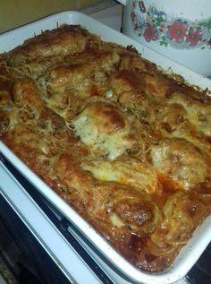 Rakott bolognai csirke, ha van otthon néhány csirkecomb, könnyen elkészítheted!