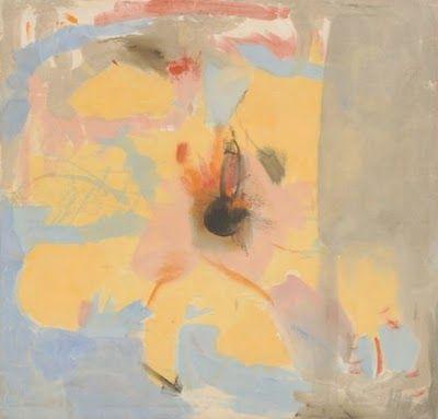 Helen Frankenthaler work titled Granada, 1953