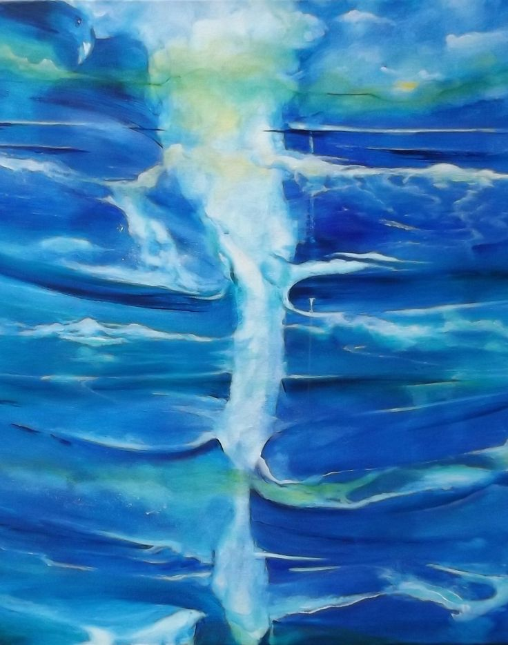Title - Ocean Currents - Cape Reinga.  Feeling bliss within my art, meditation and yoga.   Love the spirits images evolving within my paintings.  Energy Art.  https://www.facebook.com/chris.keenan.370