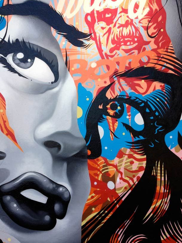 Une sélection des peintures et créations street art de l'artiste et designer américainTristan Eaton, basé à Los Angeles, qui nous offre des créations ex