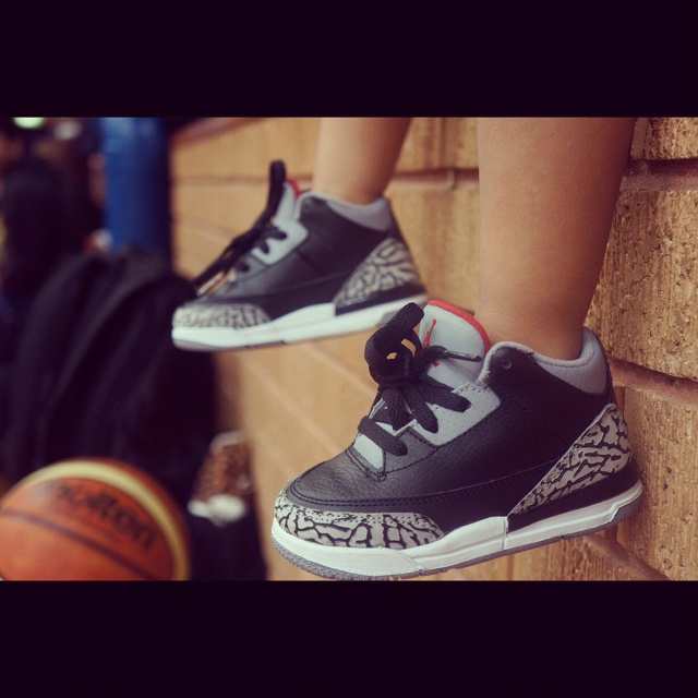 Baby Jordan 3's... I can see Jon wanting these for a future son :)