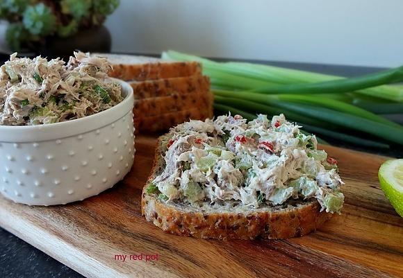 Pasta z pieczonej makreli
