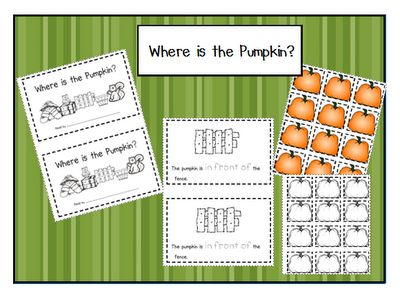 Here's a pumpkin themed activity focused on positional words.Emergent Readers, Word Work Pumpkin Kindergarten, Reader Free, Kinder Pumpkin Activities, Emergency Reader, Positive Words Pumpkin, Kindergarten Fall, Free Emergent Reader Books, Words Pumpkin Book