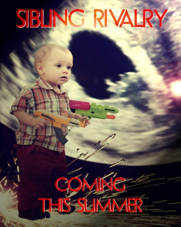 Movie poster birth announcement inspiration 12 Creative Pregnancy and Birth Announcements | Mental Floss