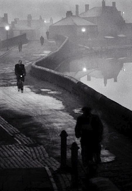 John Bulmer - Tipton at Dawn, Black Country, Winter 1960 - 1961