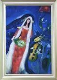 La Mariee - Marc Chagall
