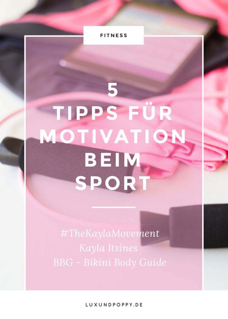 Mit welchen 5 Mantras motiviere ich mich für den Sport? Ich teile sie mit euch hier: http://www.luxundpoppy.de/lifestyle/fitness/5-tipps-motivation-sport-bbg-2017/