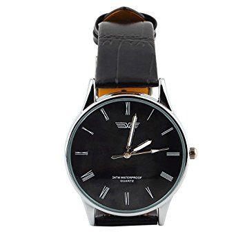Armbanduhr herren schwarzes zifferblatt