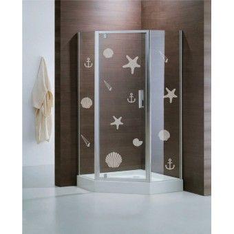 Üvegfólia - Tengeri herkentyűk : Üvegdekor - KaticaMatrica.hu - A minőségi falmatrica és faltetoválás webáruház