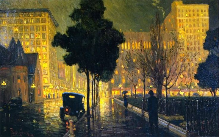 1168 Best City And Country Scenes In Art Images On