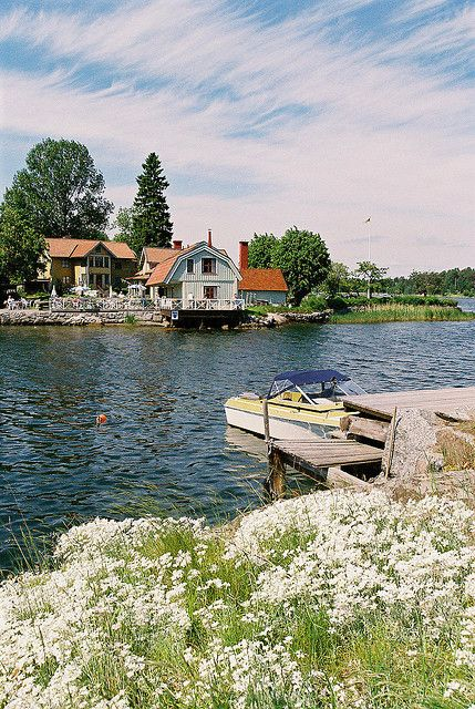 North Harbour, Vaxholm, Sweden