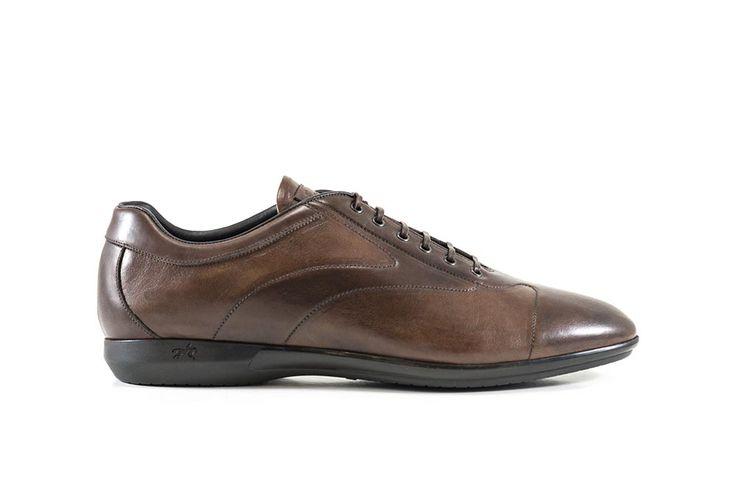 Sneakers marrone #franceschetti #franceschettishoes #madeinitaly #madeinmarche