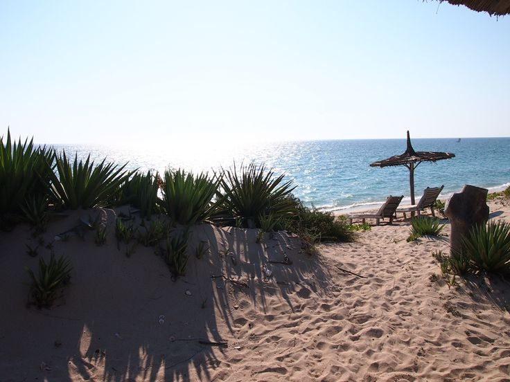 At the beach in Anakao, near Tulear...image sent by our travellers Richard and James