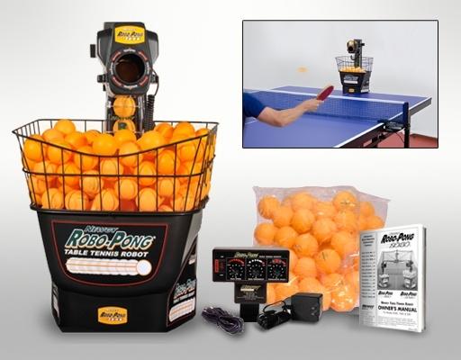 The Robo-Pong 1040 Ping Pong Robot!