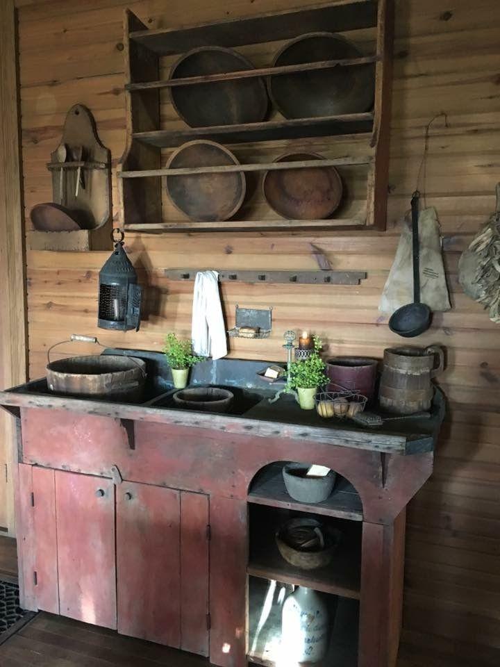 791f02577ca1d9d54da7c9a7f754bed4 primitive kitchen ideas rustic primitive decor