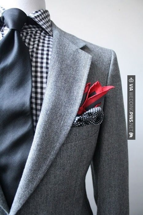 Fun with pocket squares.