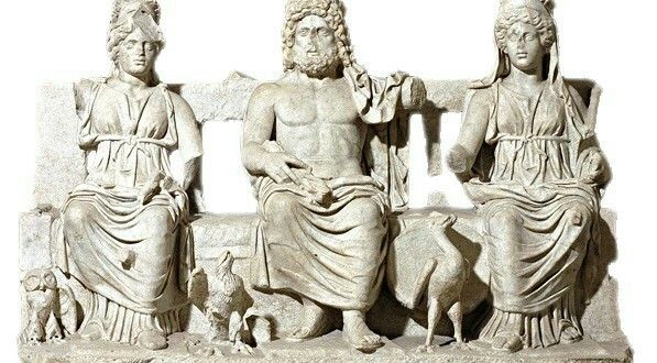 Triade Capitolina. 180 d.C.