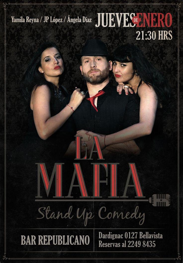 Cartel para show de Stand-up Comedy
