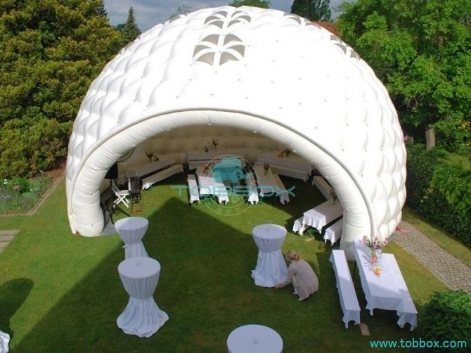 inflatable lounge tent
