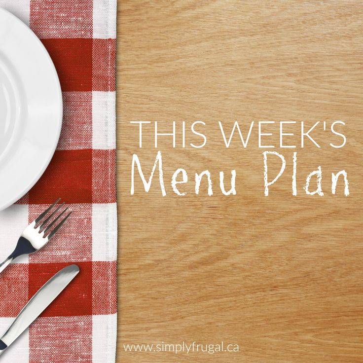 The 25+ best Weekly menu template ideas on Pinterest Menu - weekly menu