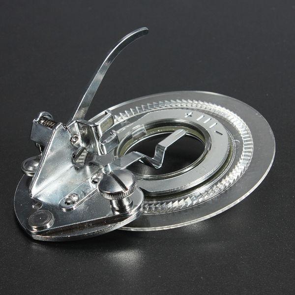 Pe de brochador de flor de fantasia de maquinas de costura de canela baixas