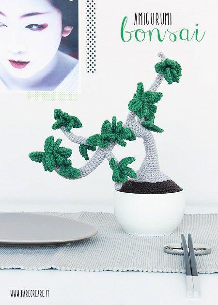 bonsai scheme to crochet for free in Italian