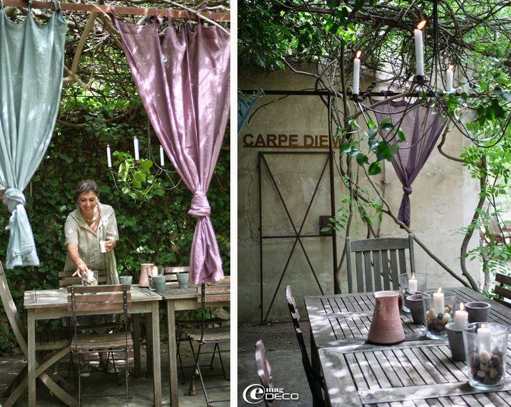 Les 25 meilleures id es de la cat gorie lustres en fer forg sur pinterest - Tonnelle jardin fer forge ...
