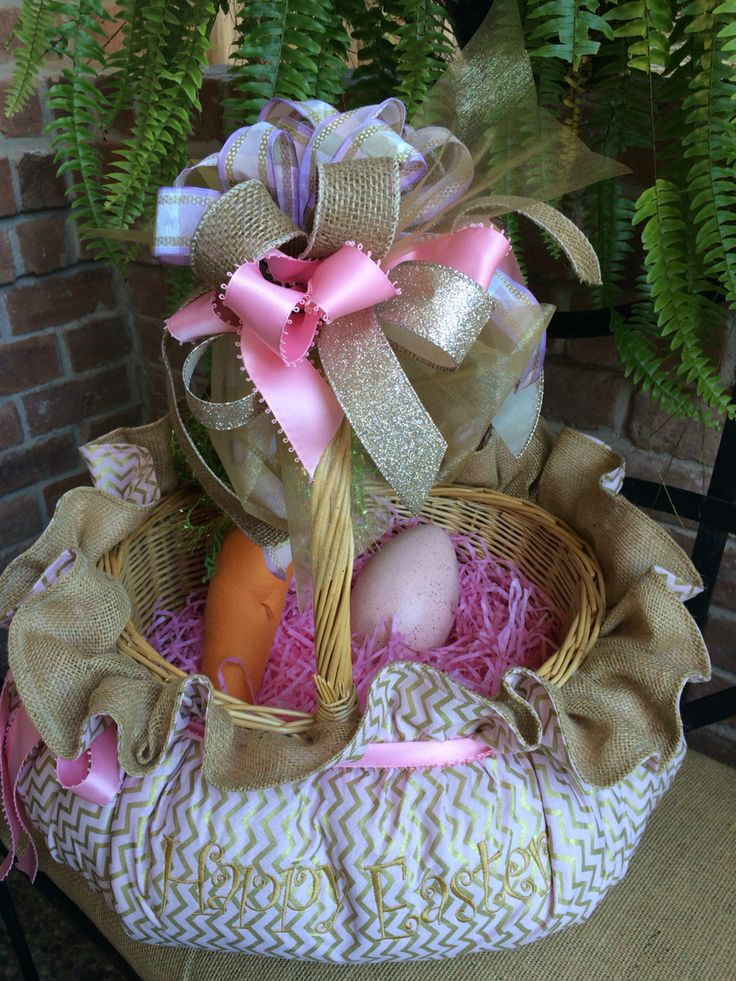 247 best images about custom easter baskets on pinterest - Custom made easter baskets ...